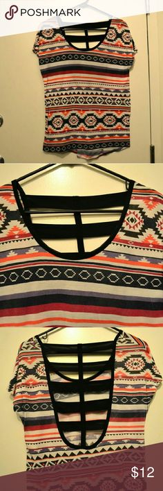 Zumiez Empyre Small Aztec Patterned Top Size small from Zumiez. Empyre brand. Back is open as can be seen in pictures. Only worn once Zumiez Tops