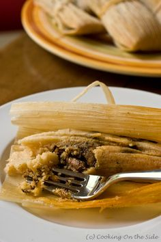 I love tamales. I've always been scared to try and make them myself. I think I'm going to have to now.