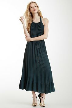 Pleated Sleeveless Gown by Rebecca Taylor on @HauteLook