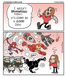 This is basically what happened. - Visit to grab an amazing super hero shirt now on sale!