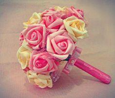 Mini Buque Rosa para damas e madrinhas