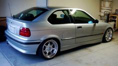 BMW e36 compact on OEM BMW Styling 19 (BBS RT) wheels