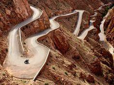 Windy Desert Road