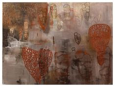 """Terry Winters """"Free Union"""" 1983"""