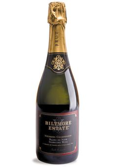 Biltmore Estate Blanc de Noir - Careful aging produces a crisp sparkling wine with a delightful light pink hue and flavors of cherries and strawberries.
