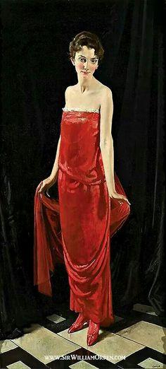 MADAME ERRAZURIS BY SIR WILLIAM ORPEN 1915