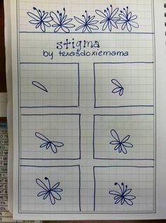 #stigma #zentangle