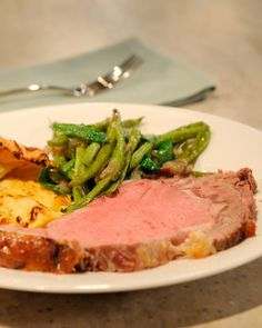 Christmas Eve Dinner? Standing Rib Roast (Prime Rib) with Yorkshire Pudding