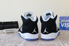 Air Jordan 5 Retro Oreo me & the boys are getting them !!! getting our tickets this weekend!!!! praying they have our sizes