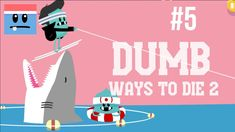 Walkthrough Dumb Ways To Die 2 | The Games: Drown Town [PT 5] gameplay no commentary. Fun games for the whole family to enjoy and great kids entertainment. Downloadable on PC and Android devices. Drown Town playthrough: shark jumping, killer whale dentistry, high dive, running beside the pool, dumb life saving, 100m piranha freestyle. Do all this without dying horribly. My first try, so lots of epic fails.
