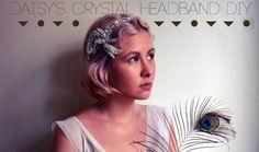 1. Daisy's Crystal Headband