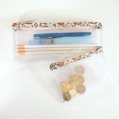 La Zippée version trousse ou porte-monnaie #pochette #cotedouceur