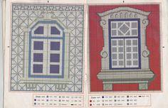 Arte by Cachopa - Ponto Cruz I: Janelas típicas de Portugal