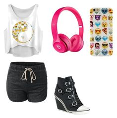 """Cute outfit"" by fungiral on Polyvore featuring Ash and Apple"