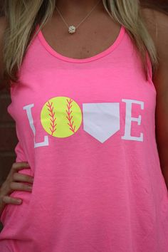 Fun softball or baseball design. Use heat transfer materials and a heat press to design your own apparel. Softball Crafts, Softball Quotes, Softball Shirts, Girls Softball, Sports Shirts, Softball Stuff, Softball Cheers, Golf Quotes, Softball Shirt Ideas