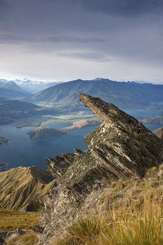 Lake Wanaka and Mt Aspiring National Park from Roy Peak, New Zealand