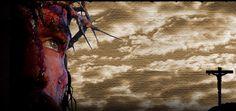 """La Passion du ChristBandeau publicitaire du Film """"La PASSION"""" de Mel Gibson"""