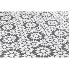 Toulon Encaustic Tile – Black/White | Heritage Building Centre