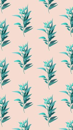 Background, illustration, pattern, nature, art, plants