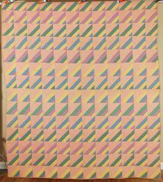 Vintage 30's Mennonite Roman Stripe Shadow Antique Quilt ~Nice Op Art Design! | Antiques, Linens & Textiles (Pre-1930), Quilts | eBay!
