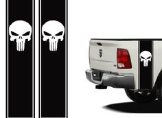 "Truck Bed or Car Side Racing Stripe Set Universal 11""x40"" Punisher You Pick the Color FG http://www.amazon.com/dp/B008NIU722/ref=cm_sw_r_pi_dp_gO89ub0Z8NDWS"