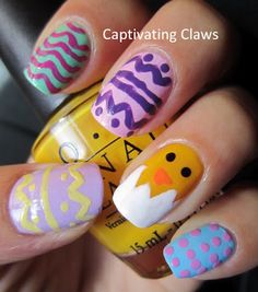 Captivating Claws: Girly-Girl Nail Art Challenge