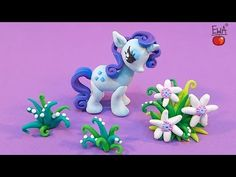 ▶ LET'S CLAY! RARITY tutorial - polymer clay - My Little Pony - YouTube