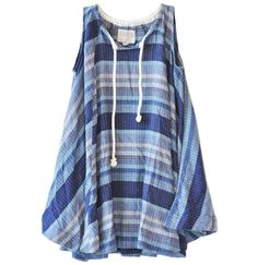 ace & jig denim weave sojourn dress available at les pommettes los angeles