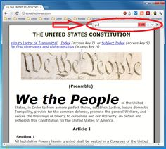 United States Constitution (God search)