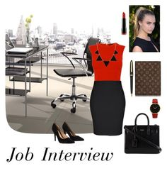 """""""Job Interview"""" by jessica-skye-1 ❤ liked on Polyvore"""