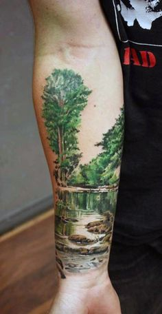 Best Nature sleeve tattoo design idea 2016. Description from pinterest.com. I searched for this on bing.com/images