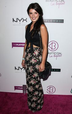 Shenae Grimes Photos: Stars at the 3rd Annual BeautyCon at Siren Studios in Los Angeles
