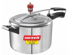 Sunkwik Pressure Cooker   You will seldom find a household with a kitchen that does not have a pressure cooker. Purchasing a Sun-Kwik pressure cooker will help you churn out some of the most amazing healthy dishes in your kitchen with ease.  visit us: http://www.goforads.in/index.php?page=item&id=5307