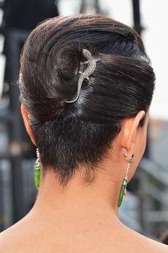 Cool Medium Black Homecoming Hairstyle