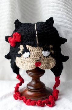 free crochet betty boop hat pattern | Betty Boop hat - *Inspiration*