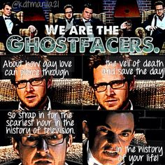 3x13 Ghostfacers  Made by Krysta Taylor