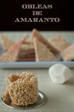 TUTORIAL VIDEO ON WEBSITE Obleas de Amaranto - Texto