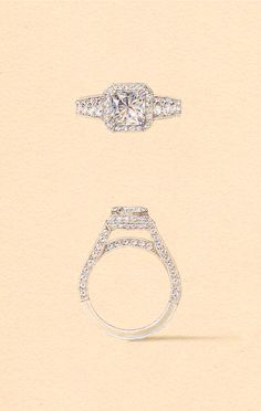 The Mira Setting. Naveya & Sloane engagement ring, made to order in Auckland, New Zealand.