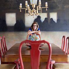Open house | Adriana Tutundjian. Veja: www.casadevalenti... #decor #decoracao #interior #design #casa #home #house #idea #ideia #detalhes #details #openhouse #style #estilo #casadevalentina #diningroom #saladejantar