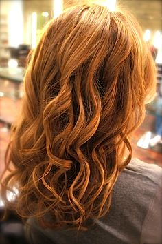 Hairstyle Trend 2014, Before/After Photos: Cashmere Curl Blow-Out - Cashmere Protein Salon Service Creates Soft, Textured Waves
