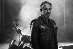 """Tommy Flanagan as Filip 'Chibs' Telford in the Season 7 promo photo for """"Sons of Anarchy."""""""