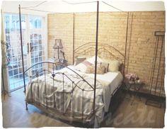 Vintage, camas de ferro