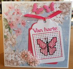 Give perler beads and tray as a gift. Include the image on a gift tag. Tiny Cross Stitch, Cross Stitch Boards, Cross Stitch Patterns, Cross Crafts, Paper Embroidery, Marianne Design, Card Patterns, Perler Beads, Needlepoint
