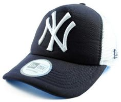 New Era Clean Trucker NY Yankees Cap: Amazon.co.uk: Sports & Outdoors