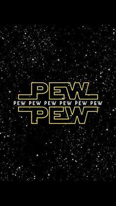 Imagen de star wars, pew, and stars