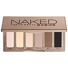 Urban Decay - Naked Basics Palette...AMAZING palette for natural matte colors