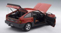 Honda Ballade CR-X Si (1985) | 1:18 Scale Diecast Model Car by AUTOart | All Open