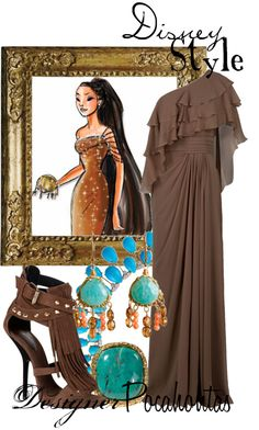 """Disney Style : Pocahontas"" by missm26 on Polyvore"