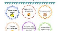 Ismét készítettem pár matrica-sablont, picit előtérbe helyezve saját tanulóimat.  Ezek a praktikák elsősorban a pozitív megerősítést segít... Desserts, Blog, Tailgate Desserts, Deserts, Postres, Blogging, Dessert, Plated Desserts