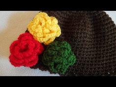 Kwiatek na szydełku / jak zrobić prosty kwiatek szydełkowy / flower crochet - YouTube